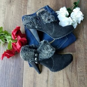 Limelight Suede Ankle Boots